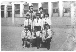 Sfârșitul anului școlar, Bălan – 1983