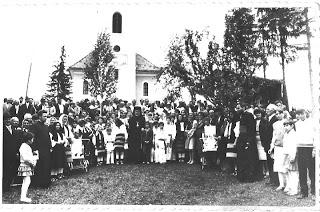 Hramul Parohiei Izvorul Mureșului, jud. Harghita – 1988