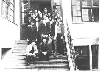 Seminarist în anul I, Cluj-Napoca – 1990