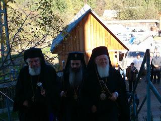 Vizita Patriarhului Ecumenic Bartolomeu I…!
