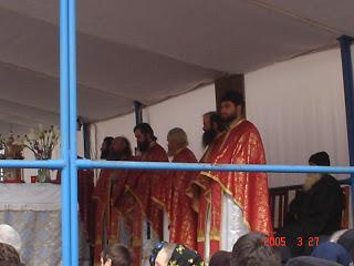 Duminica Floriilor, Mânăstirea Nicula – 2005
