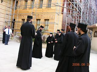Obștea Mânăstirii Nicula în vizită la Patriarhia Ecumenică, Constantinopol, Turcia – 21.08.2006