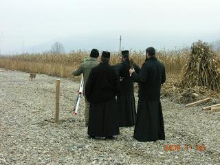 Binecuvantarea locului pentru Euroferma Manastirii Nicula…!