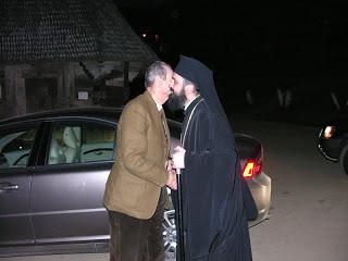 La cumpana dintre ani 2006 – 2007, Familia Regala a Romaniei la Manastirea Nicula…!