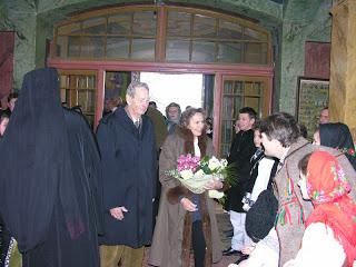 Familia Regala, Manastirea Nicula – 01.01.2007