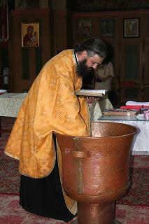 Botezul Antoniei Popuț, Mânăstirea Nicula – 2007