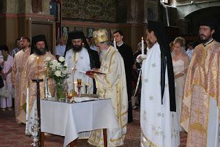 Cununia tinerilor Delia și Daniel Bogdan, Mânăstirea Nicula – 26.07.2009