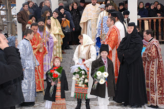 "Hramul Manastirii ""Sfantul Ierarh Spiridon"", Stramba, Jud. Bistrita-Nasaud – 12.12.2010"