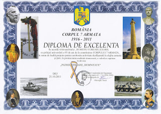 95 de ani de la infiintarea Corpului 7 Armata