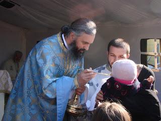 """Hramul Parohiei """"Sfântul Nectarie"""" Dej, jud. Cluj – 06.11.2011"""