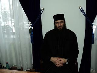 Vizită de lucru cu proiectanții viitorului ansamblu monahal la Mânăstirea Băișoara – 14.01.2012