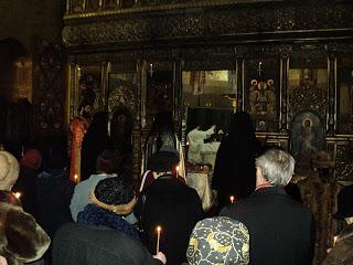 Parastas la un an pentru Bartolomeu Mitropolitul – parintele nostru, 31.01.2012, Catedrala si Cripta