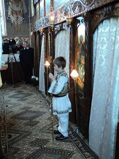 Sfânta Liturghie Arhierească, Parohia Lechința, jud. Bistrița-Năsăud