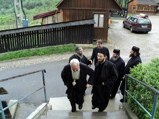 Vizită de lucru la Mânăstirea Nicula…!