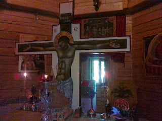 Slujba botezului pruncului Mihail Efrem la Biserica Studențească din Hașdeu – Cluj-Napoca