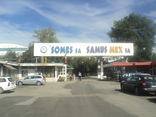 Vizită la Combinatul de celuloză și hârtie Dej, jud. Cluj…!
