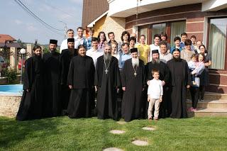 Pelerinaj: Bistrita, Parohia Domnesti, Parohia Gledin, Manastirea Toplita, joi, 16 mai 2013