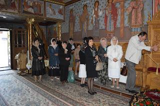 Sfanta Liturghie, Manastirea Toplita, jud. Harghita