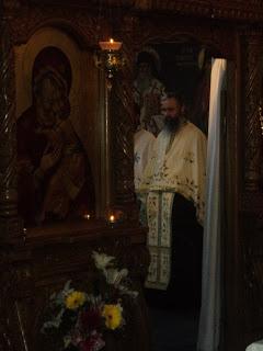 Priveghere la hramul Manastirii Rebra-Parva…!