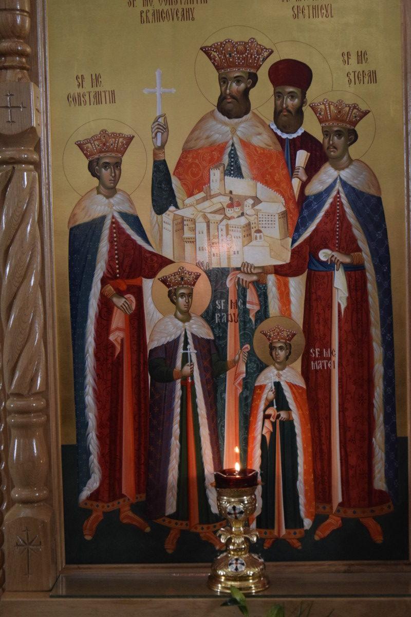 Aducerea unui fragment din Moastele Sfantului Martir Voievod Constantin Brancoveanu, Manastirea Crucea Iancului, Marisel, Cluj