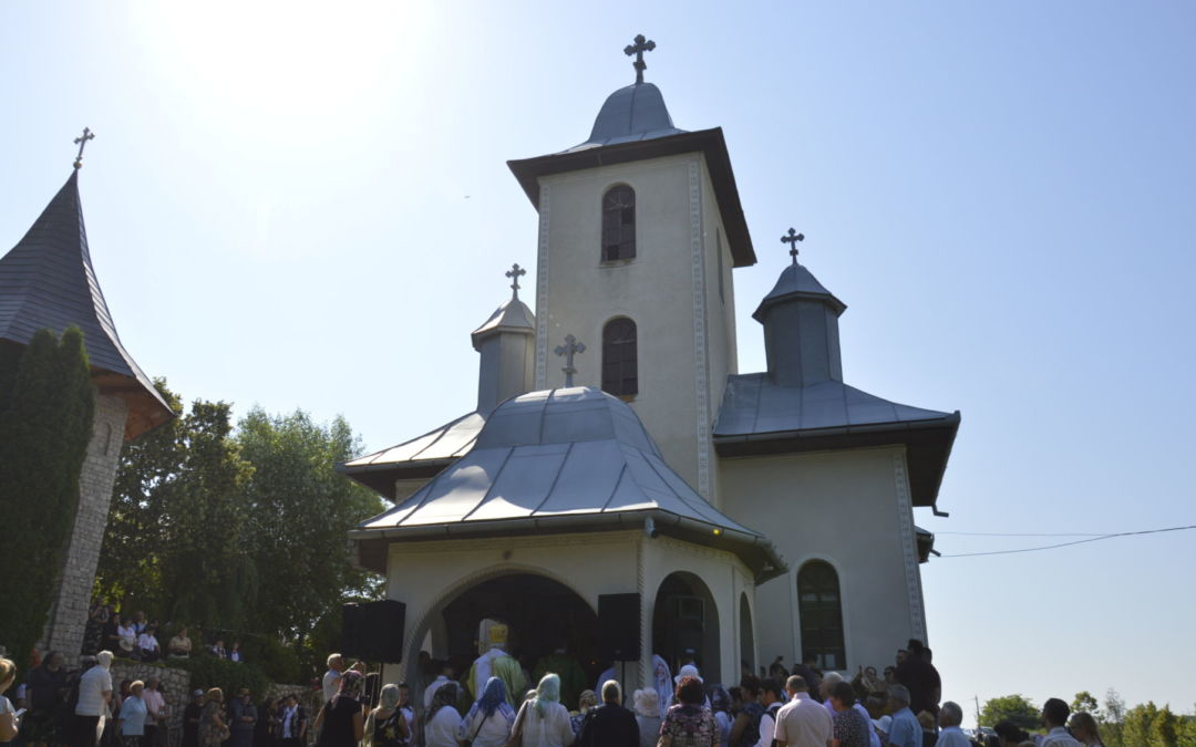 Sfanta Treime, Hramul Manastirii Soporu de Campie, Cluj