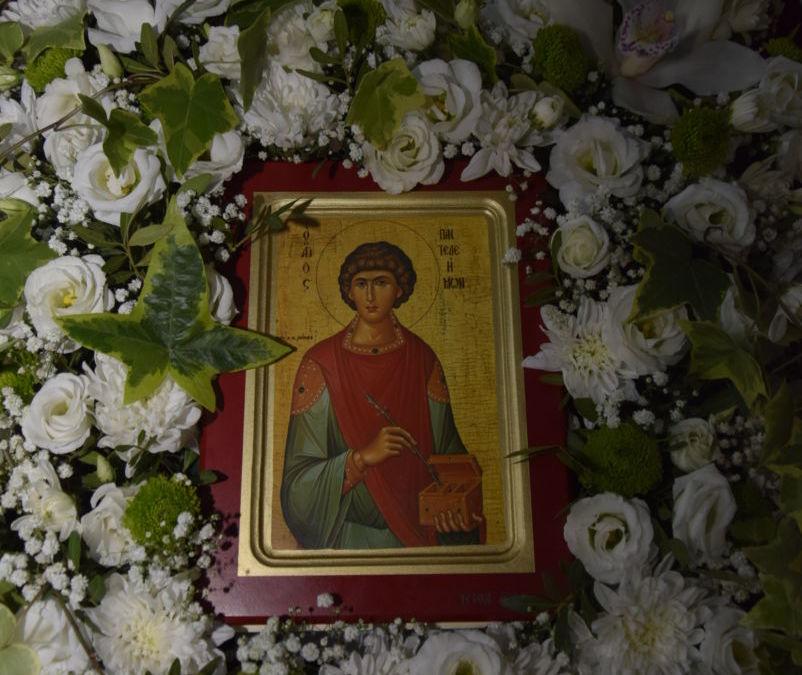 Sfantul Mare Mucenic si Tamaduitor Pantelimon, Hramul Manastirii Dancu, Cluj