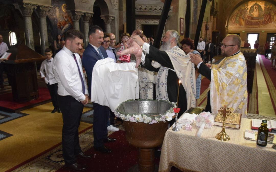 Botezul pruncului Ana Ecaterina, Catedrala Mitropolitana, Cluj-Napoca