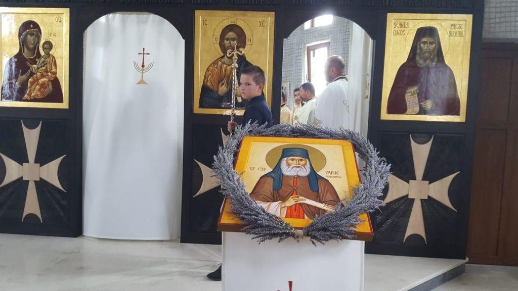 "Sfantul Cuvios Paisie Aghioritul, Hramul Manastirii ""Pantocrator"" Beclean, Bistrita-Nasaud"