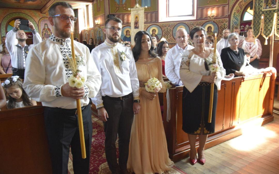 Nunta tinerilor Maria si Raul Ardelean, Cehu Silvaniei, Salaj