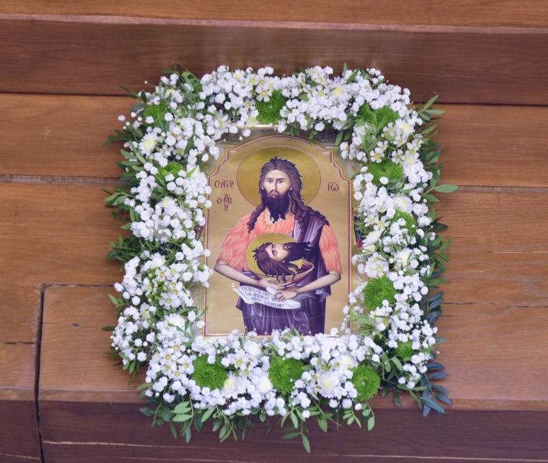 Taierea Capului Sfantului Proroc Ioan Botezatorul, Hramul Manastirii Cormaia, Bistrita-Nasaud