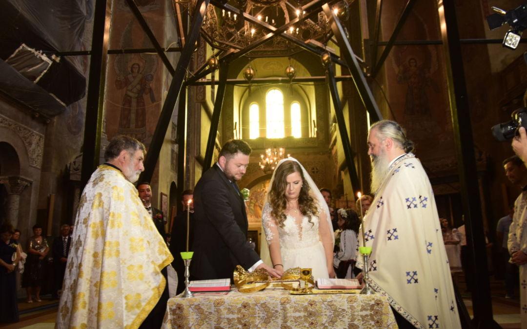 Cununia tinerilor Horatiu si Maria-Ioana Pogacean, Catedrala Mitropolitana Cluj-Napoca