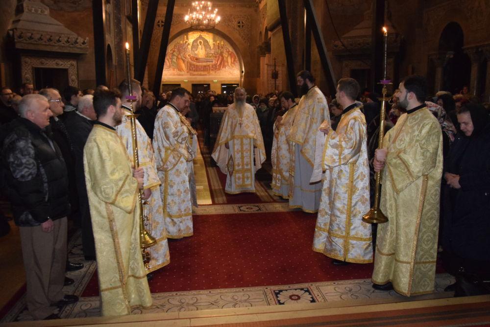 Duminica fiului risipitor, Parastasul Marelui Mecenat Emanoil Gojdu, Catedrala Mitropolitana Cluj-Napoca