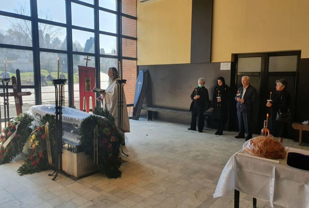 Inmormantarea Credinciosului Adrian Hada, Cluj-Napoca