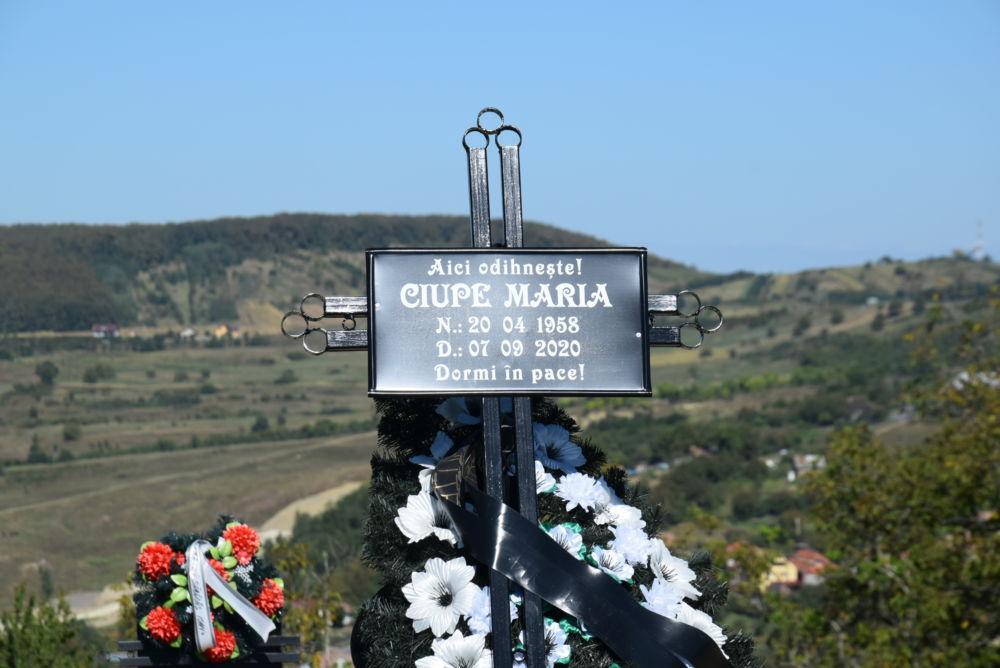 Înmormântarea Doamnei Maria Ciupe, Zalău, Sălaj