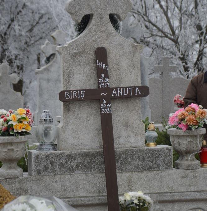 Inmormantarea credincioasei Anuta Biris, Feldioara, Cluj