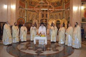 Intampinarea Domnului si Parastas la zece ani de la trecerea in Eternitate a Mitropolitului Bartolomeu Valeriu Anania, Manastirea Nicula, Cluj
