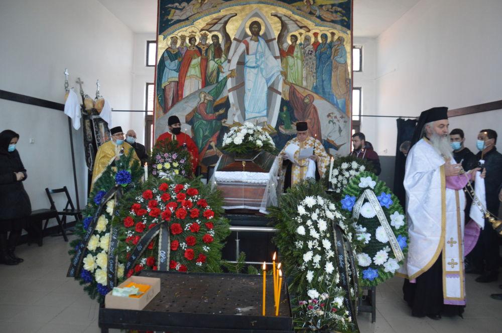 Inmormantarea Credinciosului Iuliu Ciupe, Zalau, Salaj