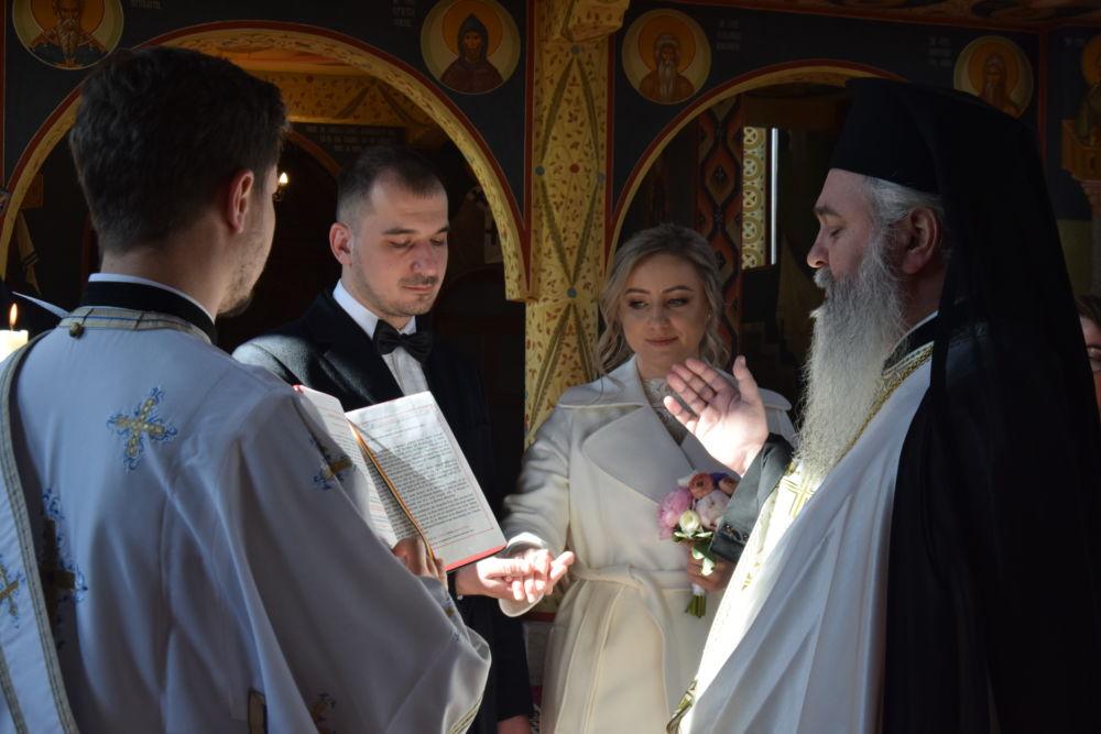 Cununia Tinerilor Diana si Alexandru Stanciuc, Manastirea Rasca Transilvana, Cluj