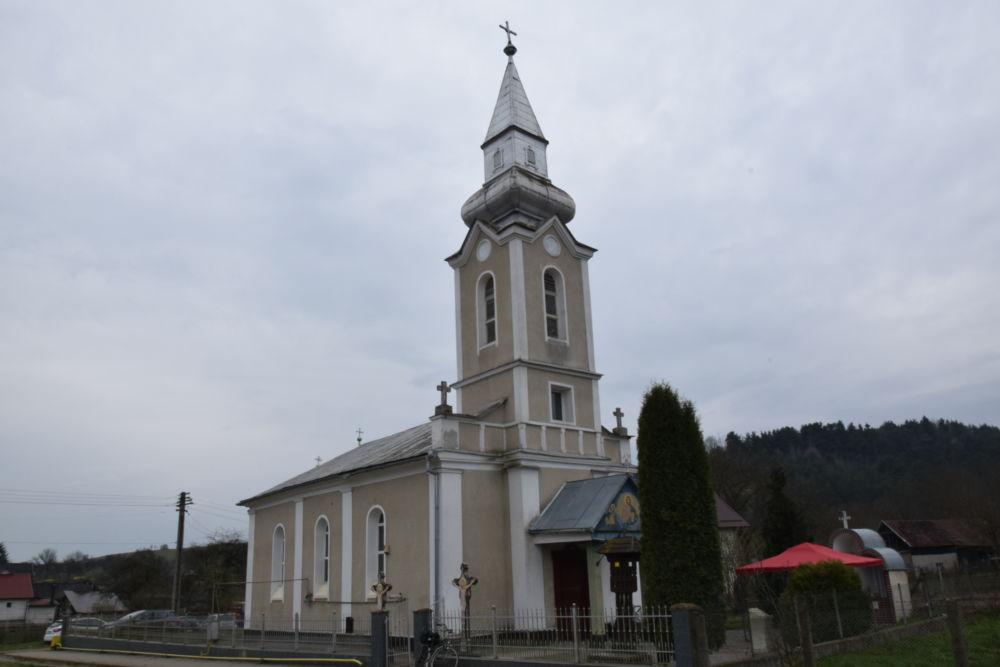 Dumnezeiasca Liturghie, Duminica a 5-a din Post, Rusu de Jos, Beclean, Bistrita Nasaud