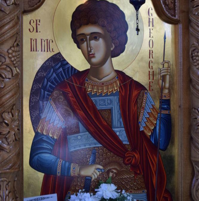 Sfantul Mare Mucenic Gheorghe, Purtatorul de Biruinta, Hramul Parohiei Petrani, Bihor