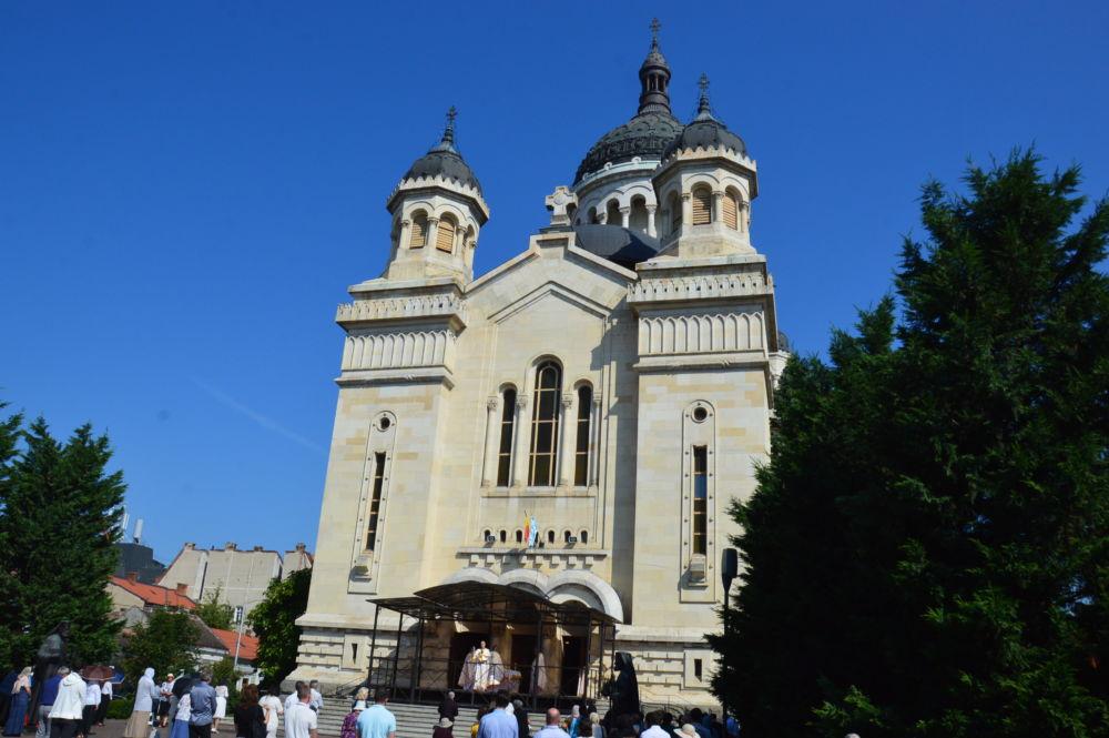 Duminica a 5-a dupa Rusalii, (Vindecarea celor doi demonizati din tinutul Gadarei), Catedrala Mitropolitana, Cluj-Napoca