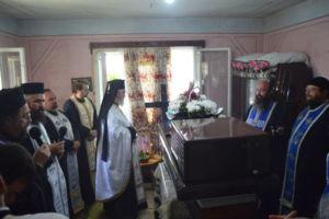 Inmormantarea Credincioasei Ileana Hort, Grosii Tiblesului, Maramures