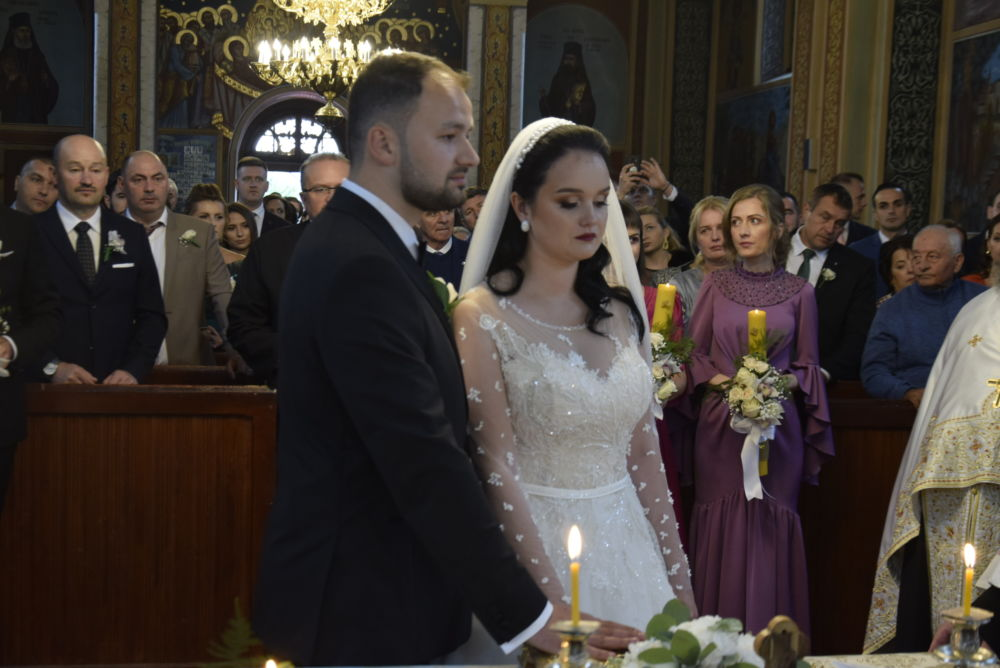 Cununia tinerilor Georgiana si Danut Moldovan, Rebrisoara, Bistrita-Nasaud