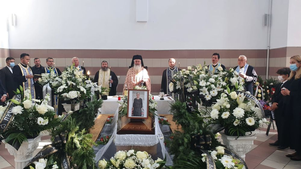 Înmormântarea Credinciosei Mame Maria Marțian, Bistrița, Bistrita-Nasaud