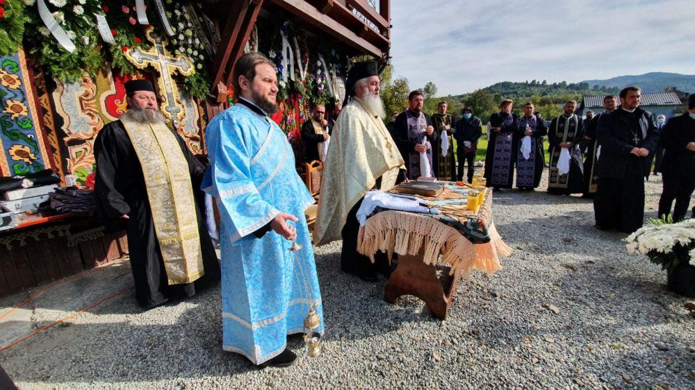 Înmormântarea Credinciosului Nicolae Zaharie, Susenii Bărgăului, Bistrita-Nasaud