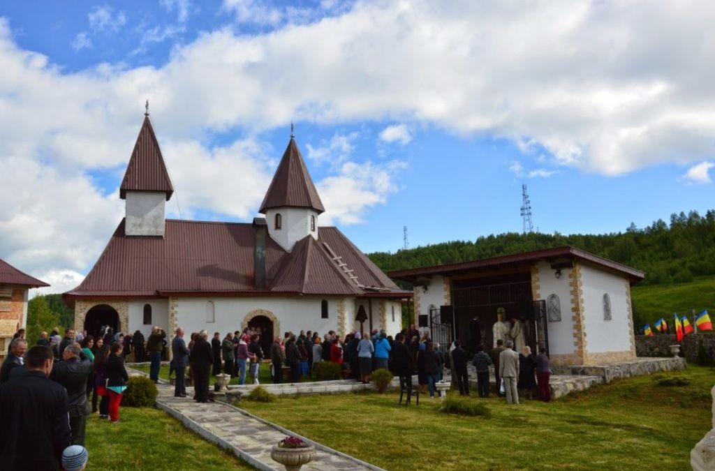 """Hramul Manastirii """"Inaltarea Domnului"""" Muntele Rece-Cluj"""